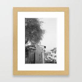 Streets of Florence Framed Art Print