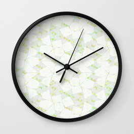 Ghost Town (Citrine) Wall Clock