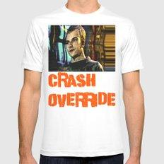 Crash Override Mens Fitted Tee White MEDIUM