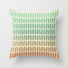 Quill Pattern Throw Pillow