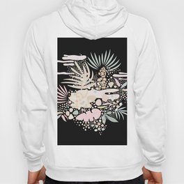 Abstract Exotic Plants Hoody