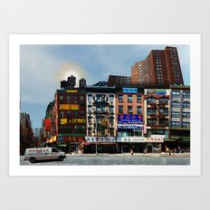 Walk on Little Fuzhou - New York Art Print