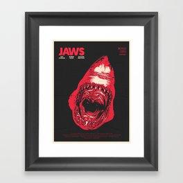 J. Framed Art Print