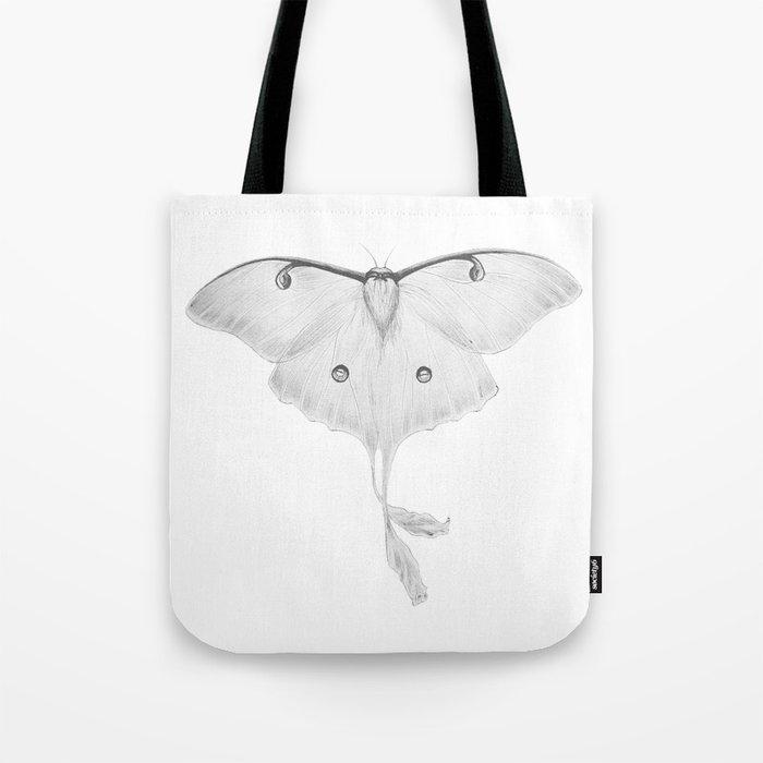 Luna Moth Tote Bag