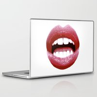 lips Laptop & iPad Skins featuring Lips by Rejdzy