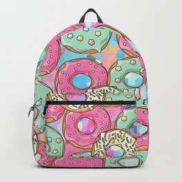 Sweet Donuts Cookies Backpack