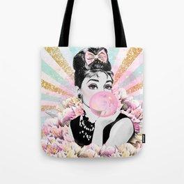 Audrey Hepburn, Pop Princess Tote Bag