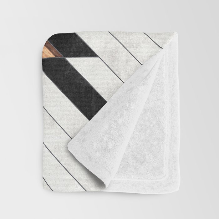 Urban Tribal Pattern No.5 - Aztec - Concrete and Wood Decke