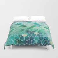 chemistry Duvet Covers featuring Chemistry by Esco