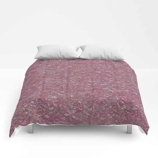 Crystal Pink Comforters