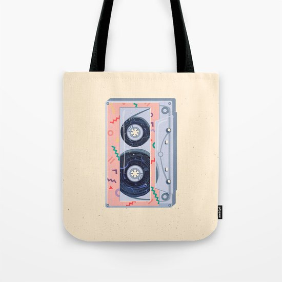 Time Travel Tape Tote Bag