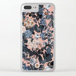 Summer Botanical Garden II Clear iPhone Case