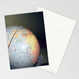 Vintage Globe Stationery Cards