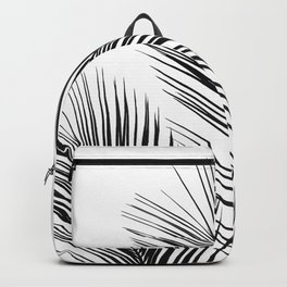 Tropical Palm Leaves #1 #botanical #decor #art #society6 Backpack