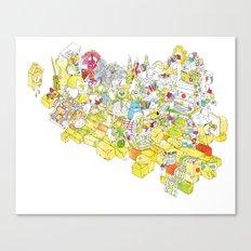 Get Crafty! Canvas Print