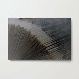 A Thousand Pages, A Thousand Lives Metal Print