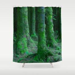 IRISH FOREST Shower Curtain