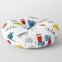 Cinema movie pattern Floor Pillow