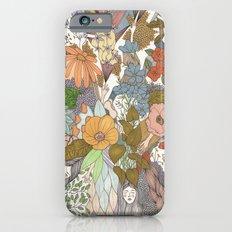 Falling Asleep in the Flowers Fine Art Print Slim Case iPhone 6