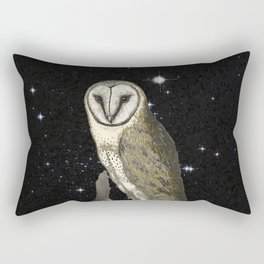 Owl in the Universe Rectangular Pillow