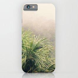 Rainforest Fog iPhone Case