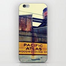 Pac Atlas iPhone & iPod Skin