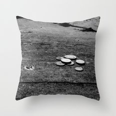 Lose Change  Throw Pillow