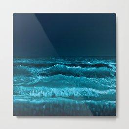 Blue wild Energie Metal Print
