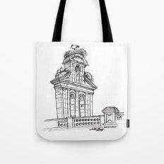 Bell gable Tote Bag