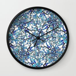 Modern Nouveau Pattern Wall Clock