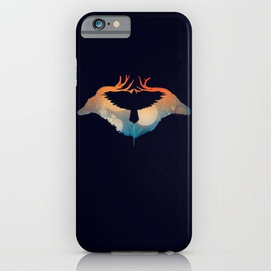 Night sky over savanna iPhone & iPod Case