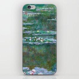 Water Lilies Claude Monet 1904 iPhone Skin