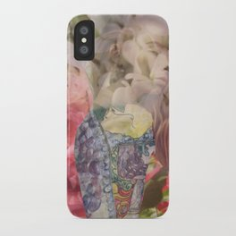 Vine Girl iPhone Case