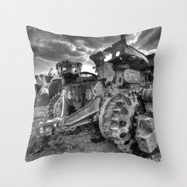 Sleeping Giants Throw Pillow