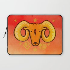 Year of the Ram (distressed) Laptop Sleeve