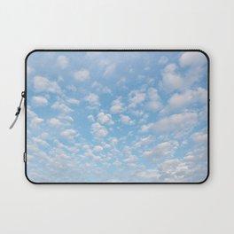 The bright blue sky in my backyard Laptop Sleeve