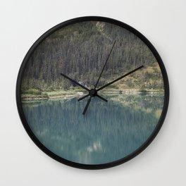 Upper Dewey Lake Reflection Wall Clock