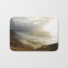 Nature photography. Barrika Beach, Basque Country. Spain. Bath Mat