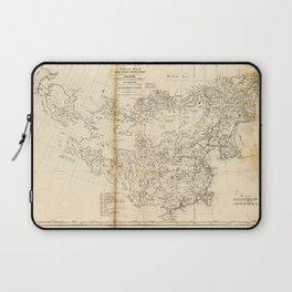 Map of China Chinese-Tartary & Tibet (1834) Laptop Sleeve