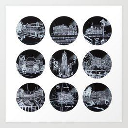 2014 Utrecht BOX SET Art Print