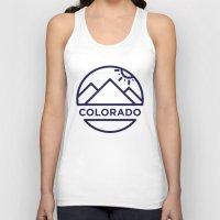 colorado Tank Tops featuring Colorado by BMaw