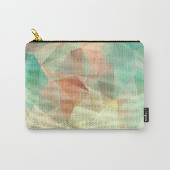 Polygon picture. Oasis in the desert. Carry-All Pouch
