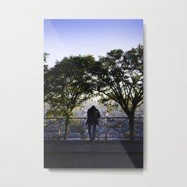 Overlooking Paris Metal Print