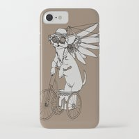 steam punk iPhone & iPod Cases featuring Steam Punk Chihuahua by Rebecca Pocai
