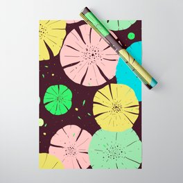 Water Lily Wrapping Paper