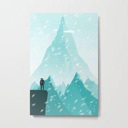 Traveller- winter Metal Print