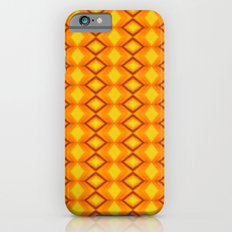 Diamonds II - orange/yellow cellphone case by photosbyhealy