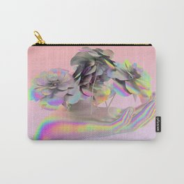 Hand Full of Flowers Carry-All Pouch