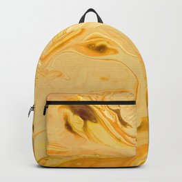Golden Marble Texture Backpack