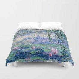 """Claude Monet """"Water Lilies(Nymphéas)"""" (9) 1916–19.jpg Duvet Cover"""